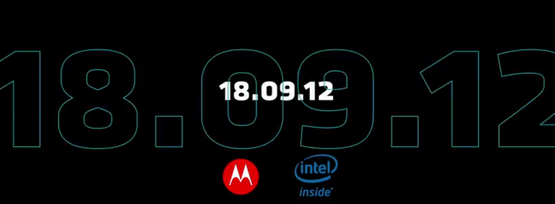 Motorola and Intel teasing September 18 event with short clip