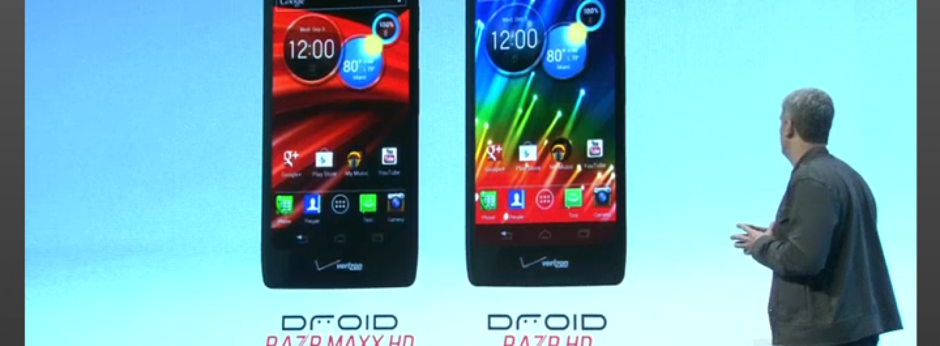 Droid Razr HD, Droid Razr Maxx HD to arrive October 18