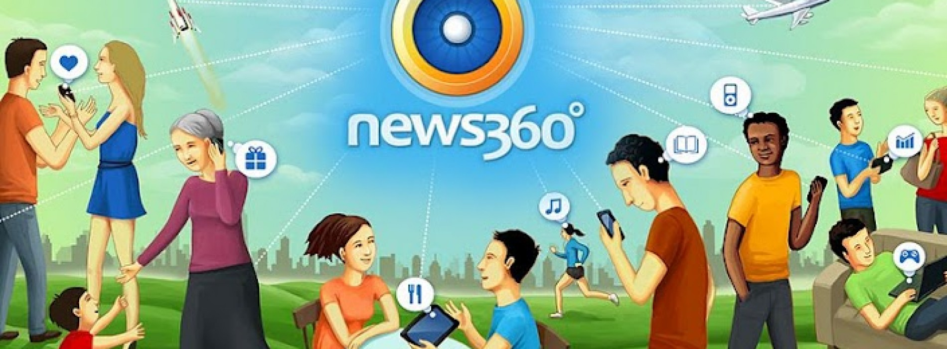 News360 debuts new design and personalization options for tablets