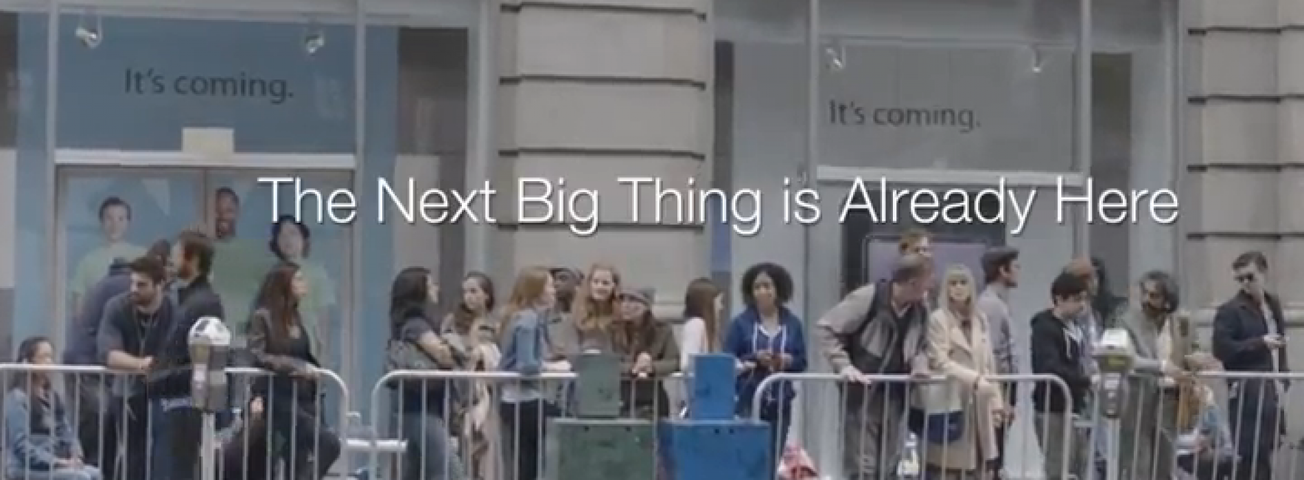 Samsung's 'Next Big Thing' ads get update in wake of iPhone 5