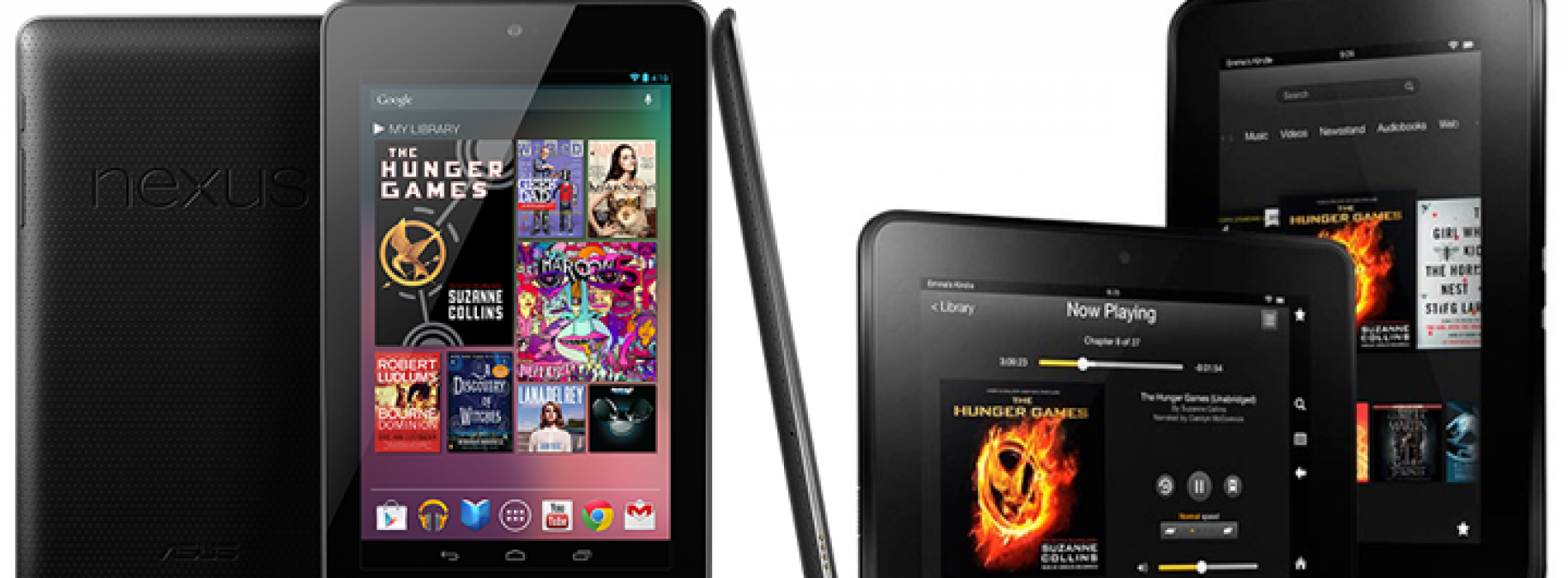 Comparing the Nexus 7 to the Kindle Fire HD