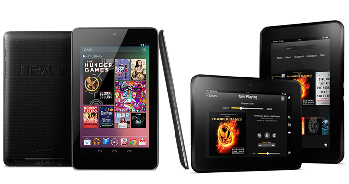 Nexus 7 Vs Kindle Fire Hd 720w