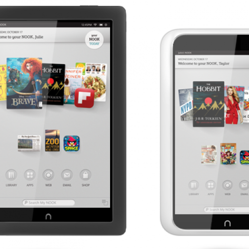 B&N announce Nook HD, Nook HD+ for late October