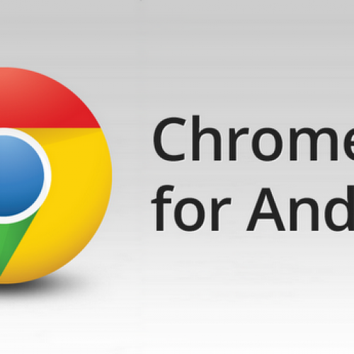 Little easter egg found Google Chrome for Android