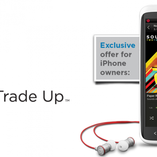HTC Trade-Up sweetens the pot for iPhone users with free headphones