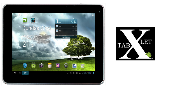 Xtablet 720w