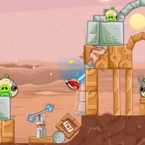 Rovio provides first gameplay footage of Angry Birds Star Wars