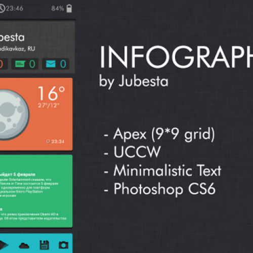 Get this look for your Android smartphone:INFOGRAPHIC