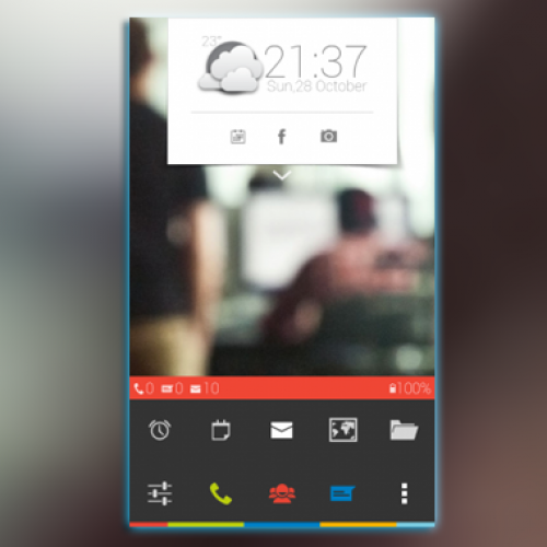 Get this look for your Android smartphone: Colors (by keeent)