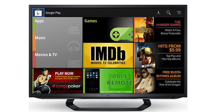 Google Play Google Tv