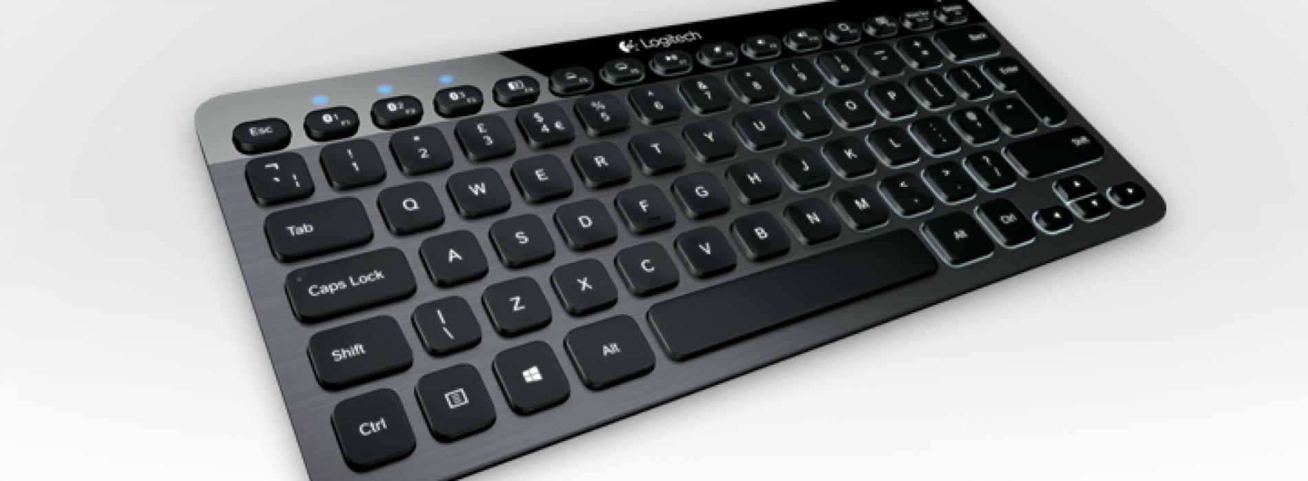 Logitech debuts K810 backlit Bluetooth keyboard