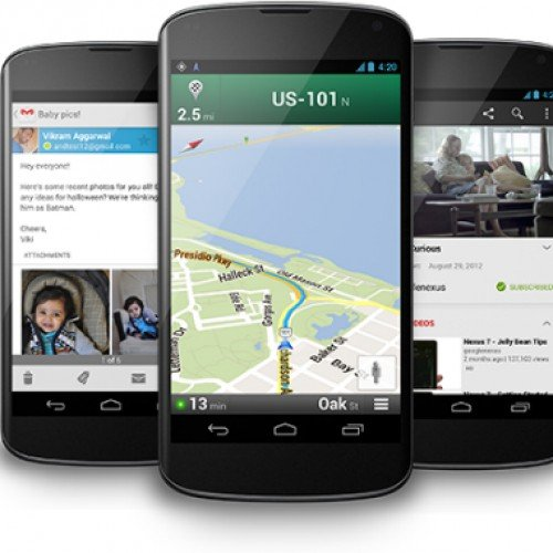 Google Nexus 4 sells over 1 million since it was launched