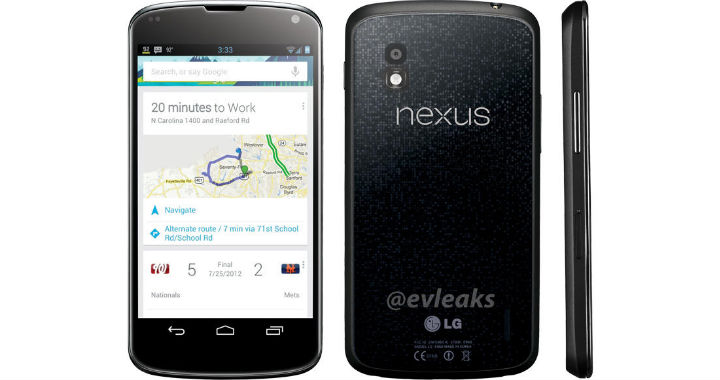 Nexus4 Leak Again