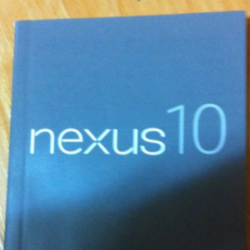 Samsung Nexus 10 user manual surfaces ahead of announcement