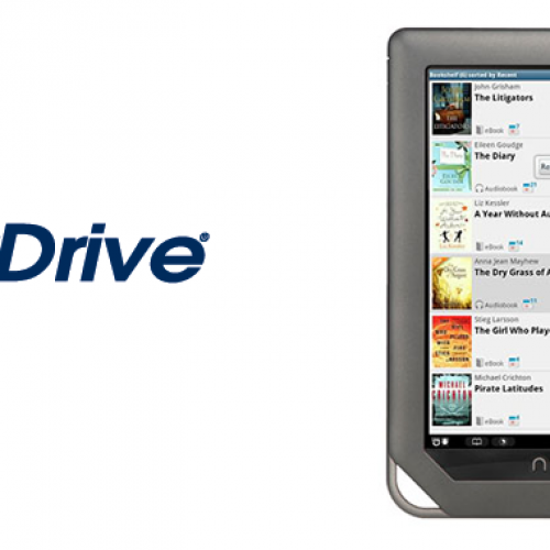OverDrive app lets NOOK owners borrow eBooks and MP3 audiobooks