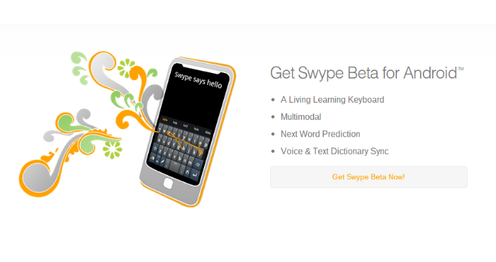 Swype Beta 720