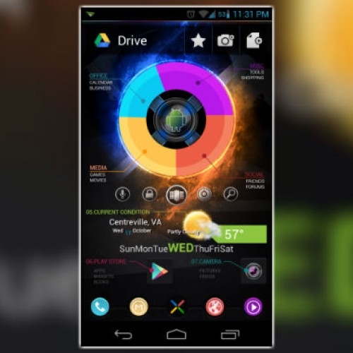Get this look for your Android smartphone: The Future, Pie UI Reimagined