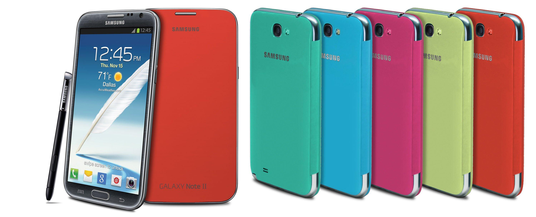 Samsung Galaxy Note 2 Flip Cover