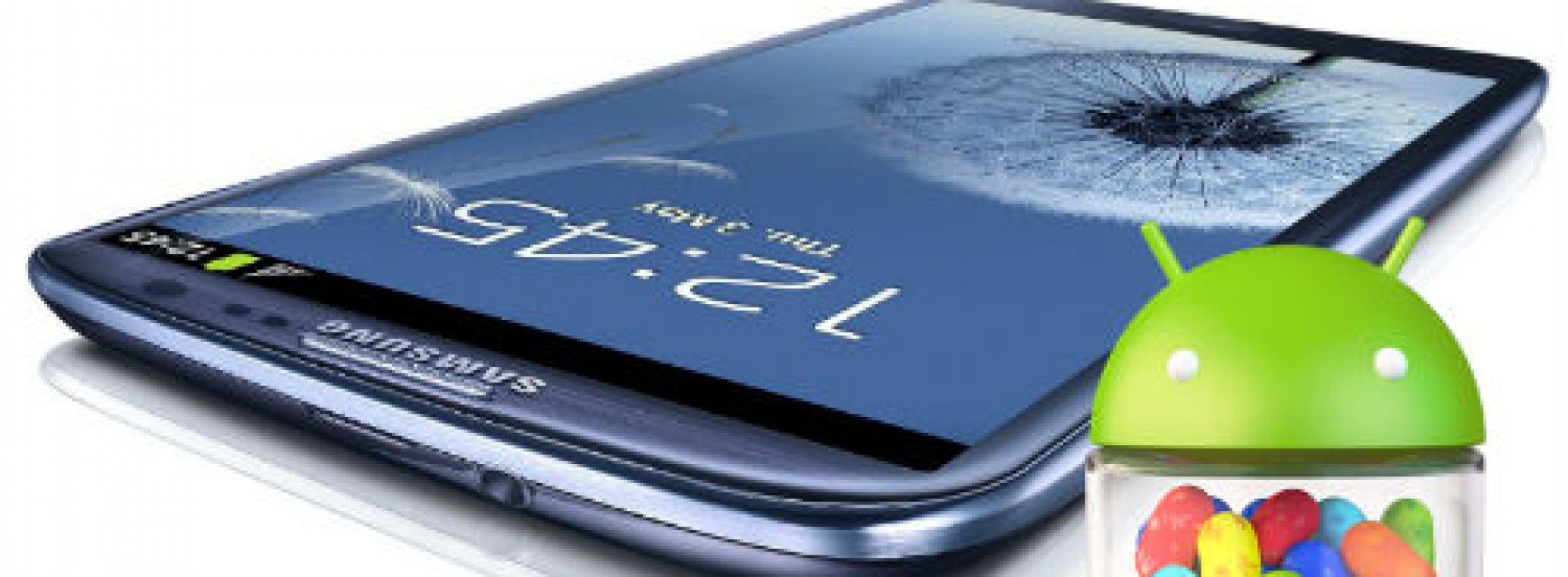 Android 4.1.2 Jelly Bean firmware leaks for the Samsung Galaxy S III