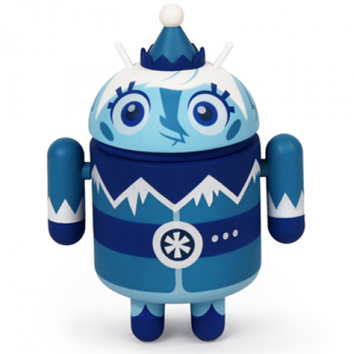 Dyzplastic debuts Frankie Frost collectible Android figure
