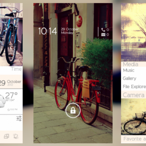 Get this look for your Android smartphone: Bicycle