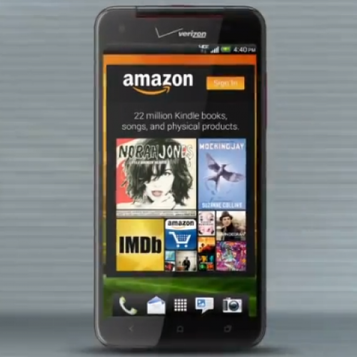 Droid DNA ushers in new Amazon experience for Verizon subscribers