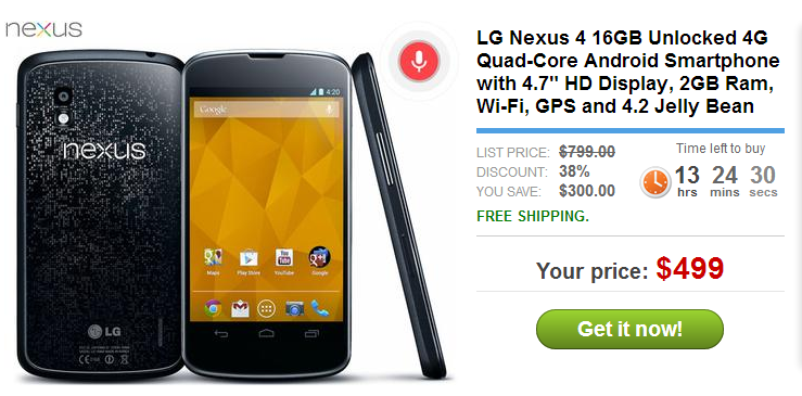 Nexus4sale