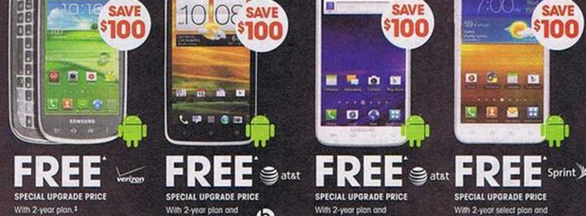 RadioShack's Black Friday ad leaks with multiple Android savings, freebies