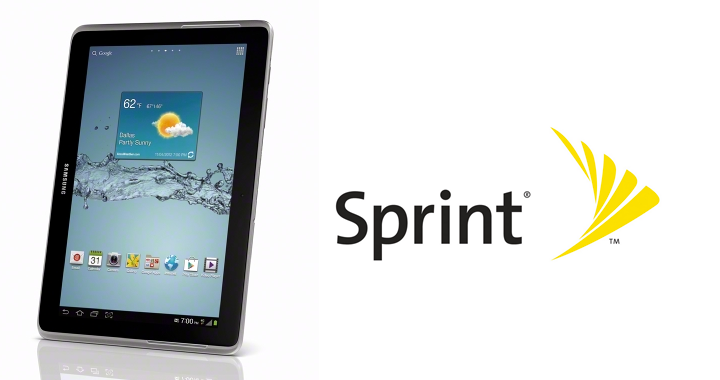 Sprint Galaxy Tab 2 101