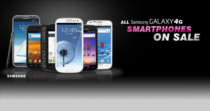 Tmobile Samsung Sales
