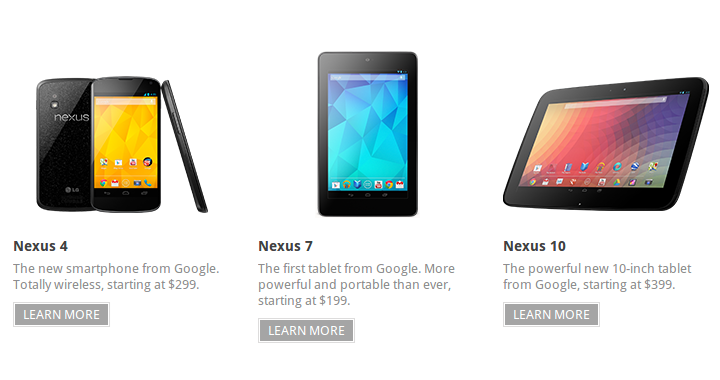 Trio Pure Google Nexus 720