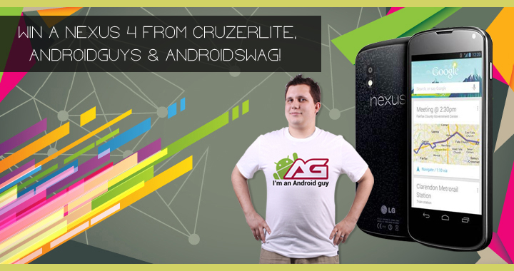 Win A Nexus 4 720