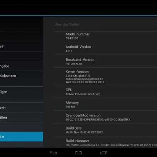 CyanogenMod 10.1 nightlies come to Samsung Galaxy Tab 10.1 – T-Mobile, Verizon, 10.1v, and wi-fi versions