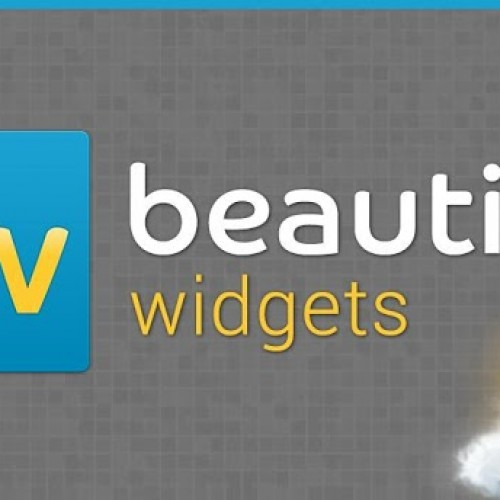 Beautiful Widgets 5.0 arrives in Google Play