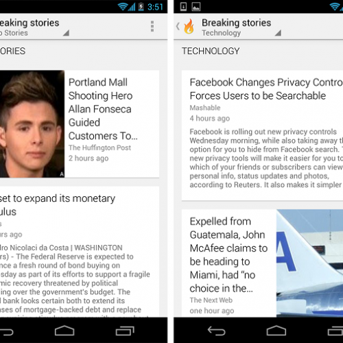 Google Currents now features breaking news, other improvements