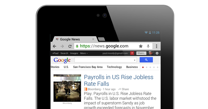 Google News Refresh 720