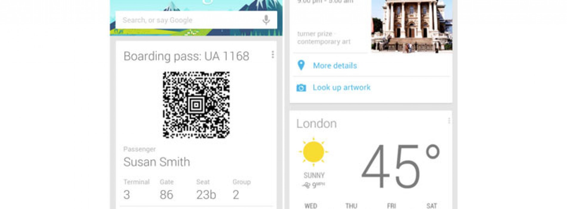 Google Now updated with travel-minded features