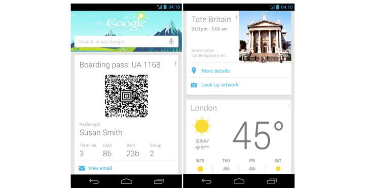 Google Now Cards Travel 720