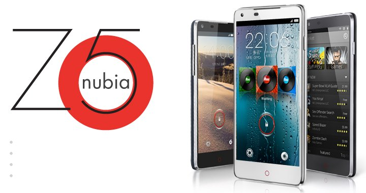 Nubia Z5 720