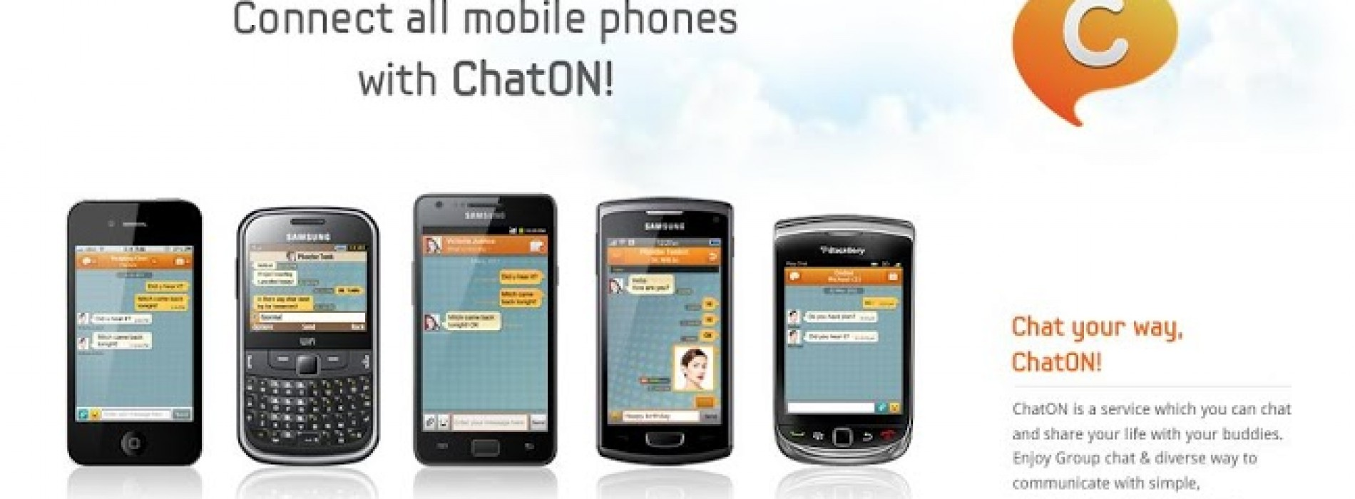 Samsung ChatON app gets host of new features in latest update