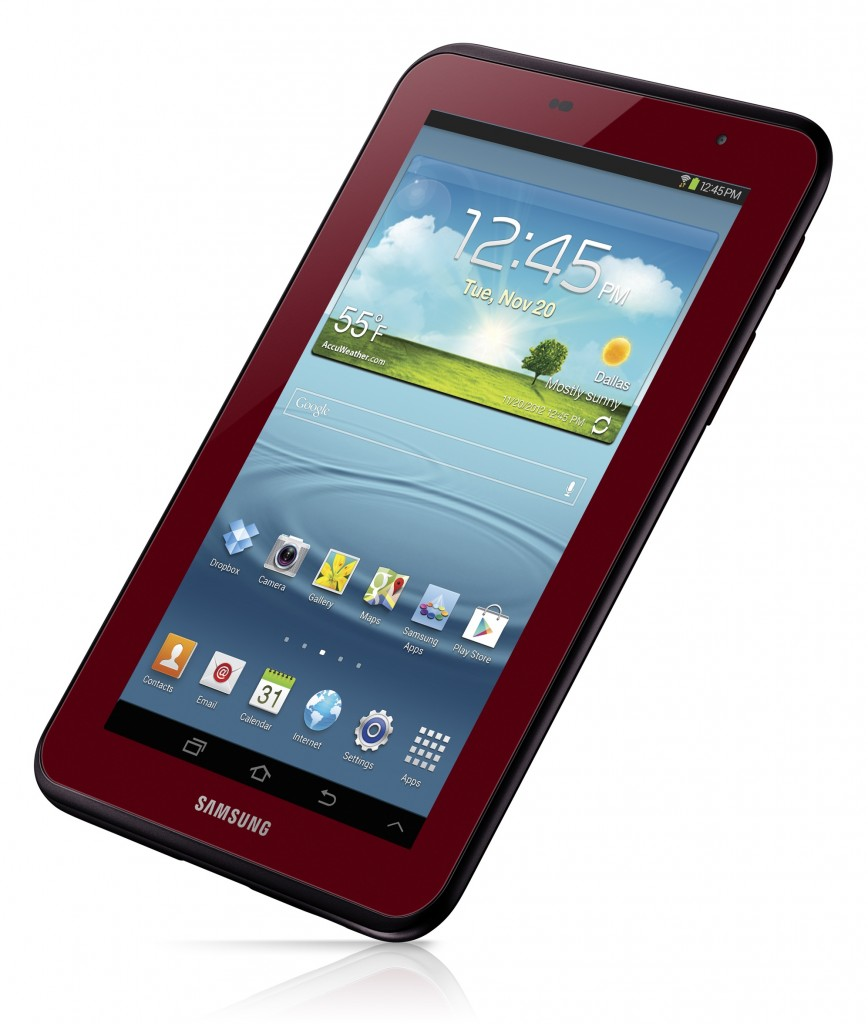 GALAXY TAB 2 7.0 - Garnet Red