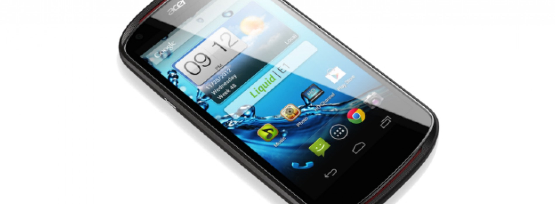Acer debuts 4.5-inch Liquid E1 smartphone