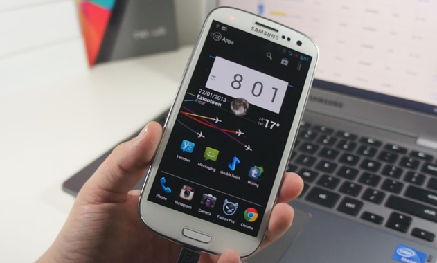 Android 4.2 on Samsung Galaxy S3