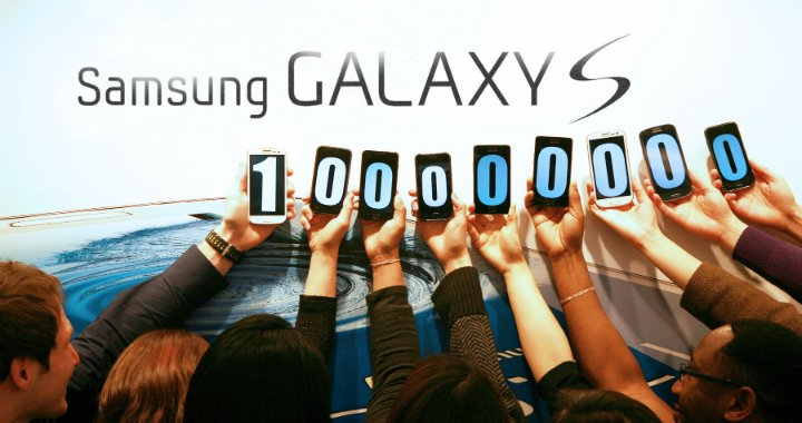 Galaxy S 100 Million