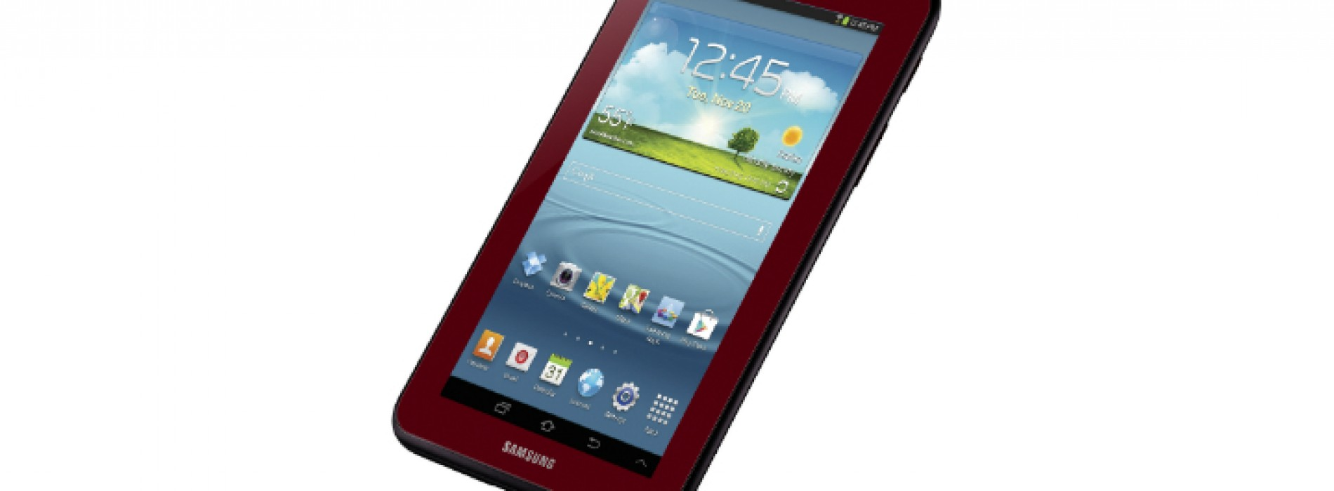 Samsung now offering special edition Garnet Red Galaxy Tab 2