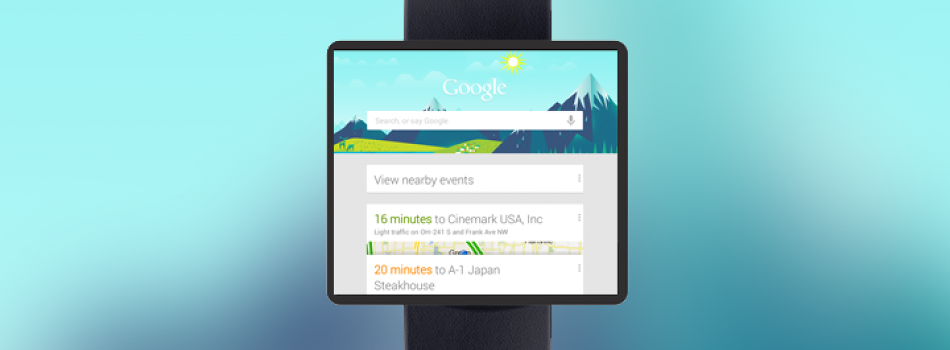 Imagine how cool a Google Now smart watch would be