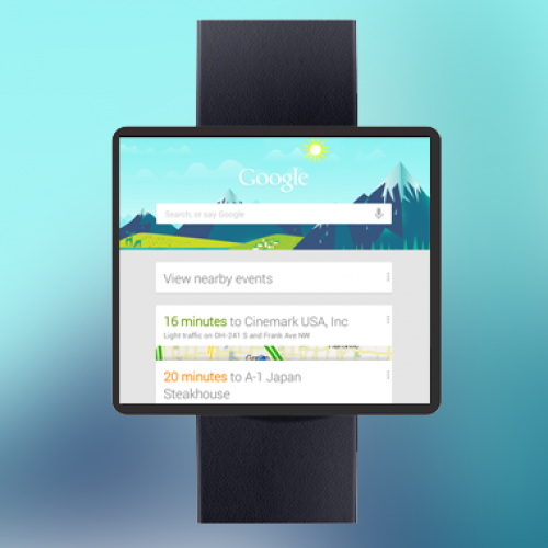 'Google Now' watch due sooner, not later
