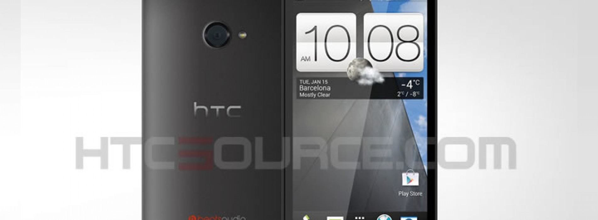Now this is what the HTC M7 looks like