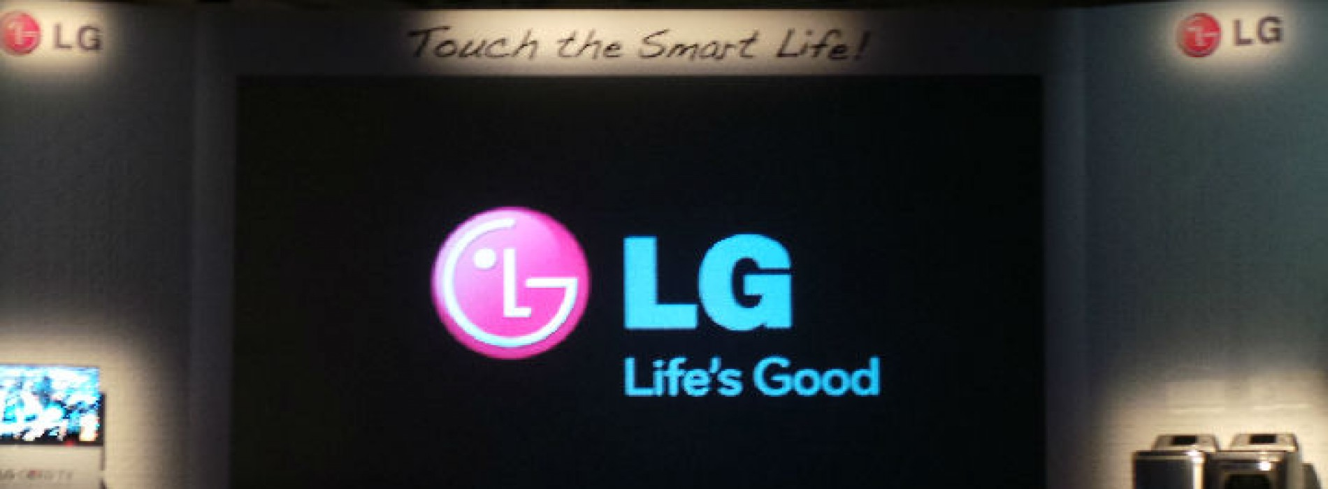 LG CES 2013 press announcement 'Touch the Smart Life'