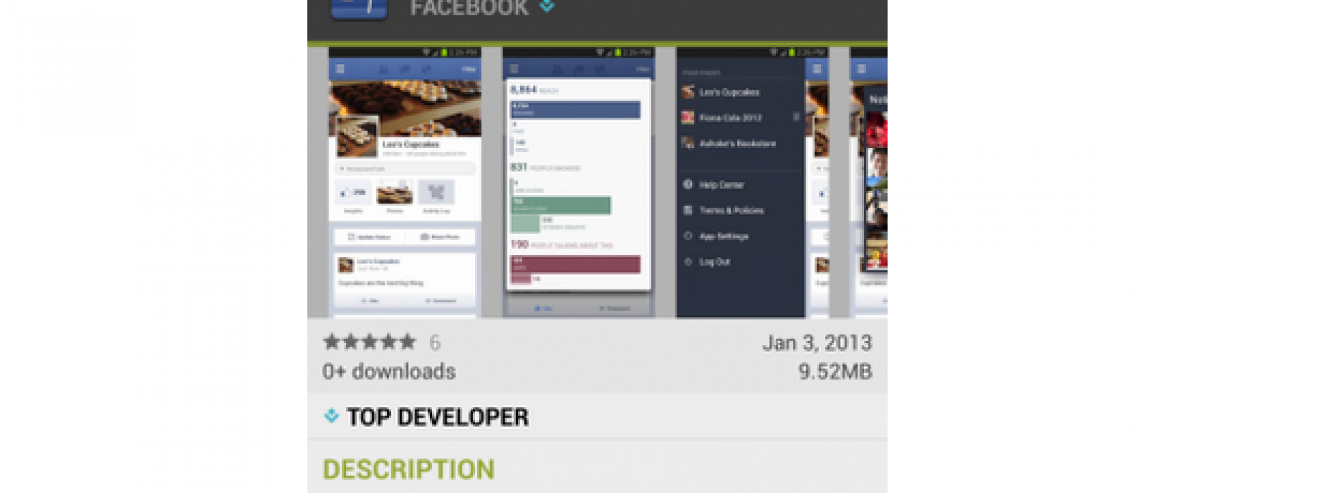 Facebook Releases Pages Manager for Android